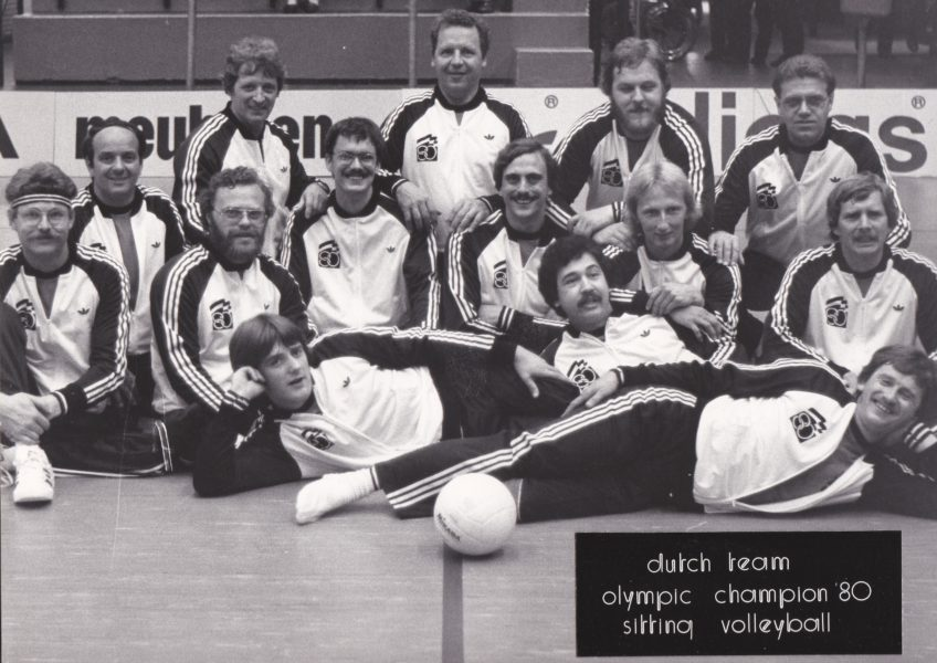 Dutch Olympic Team 1980 Zitvolleybal