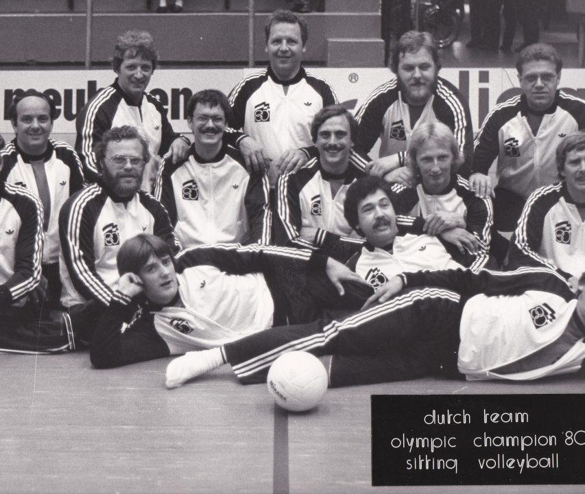 Dutch Olympic Team 1980 Zitvolleybal