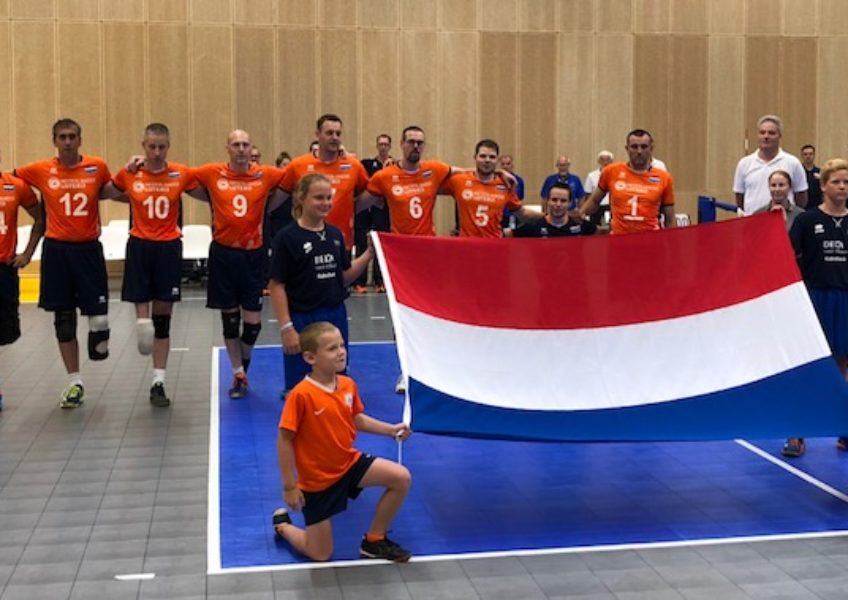 Heren Zitvolleybal Team 2018 Arnhem