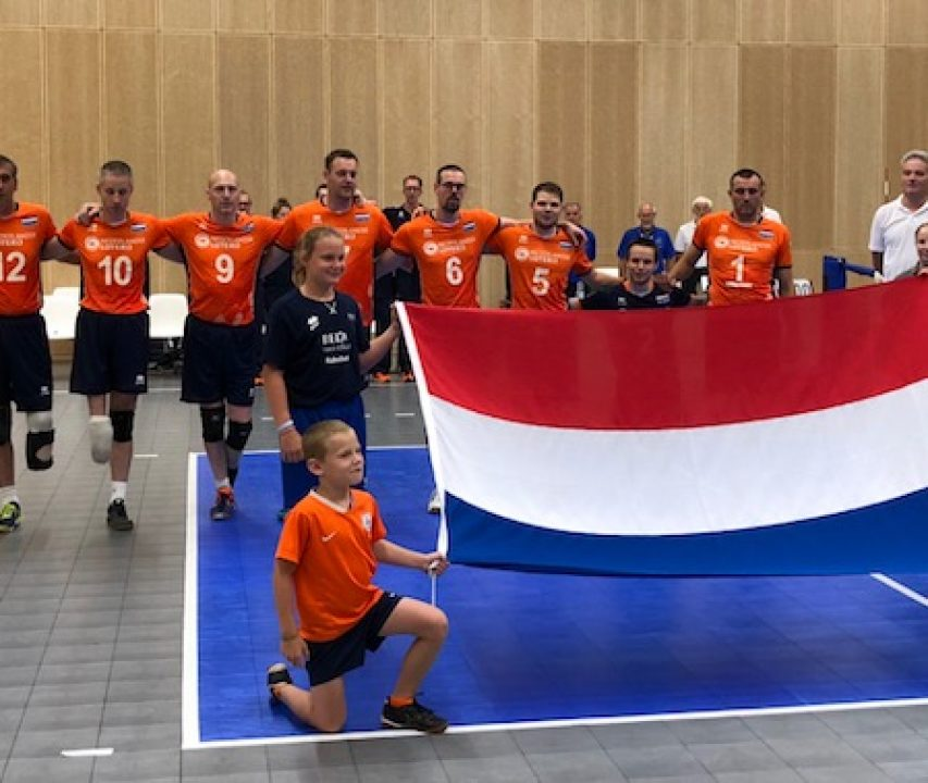 Heren Zitvolleybal Team 2018 Arnhem