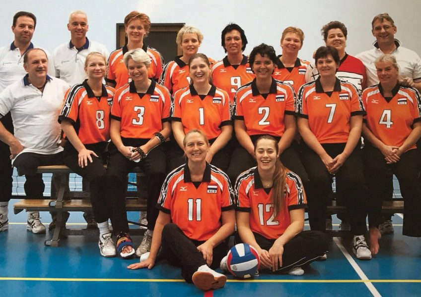 Teamfoto 2003 Zitvolleybal