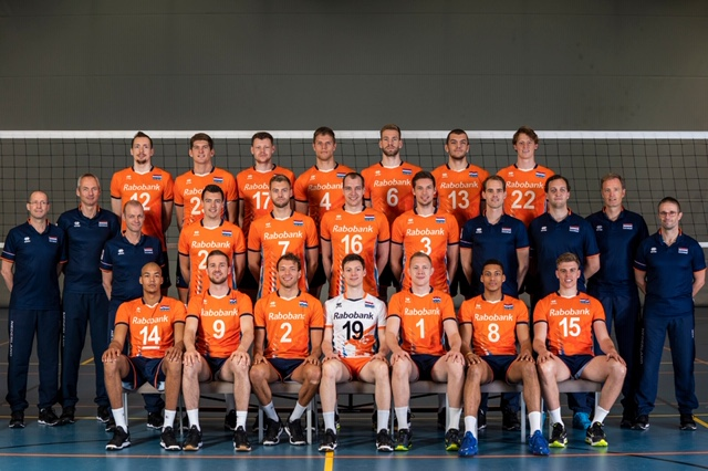 Nederlands heren volleybalteam 2019