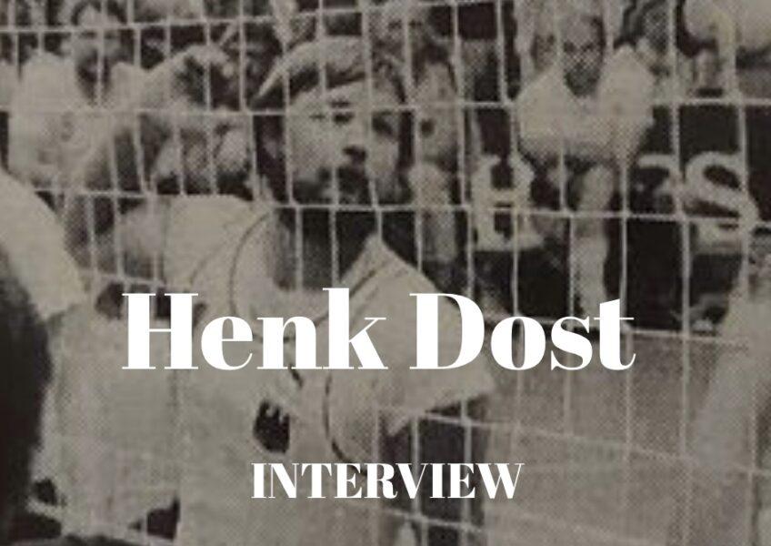 Henk Dost in actie